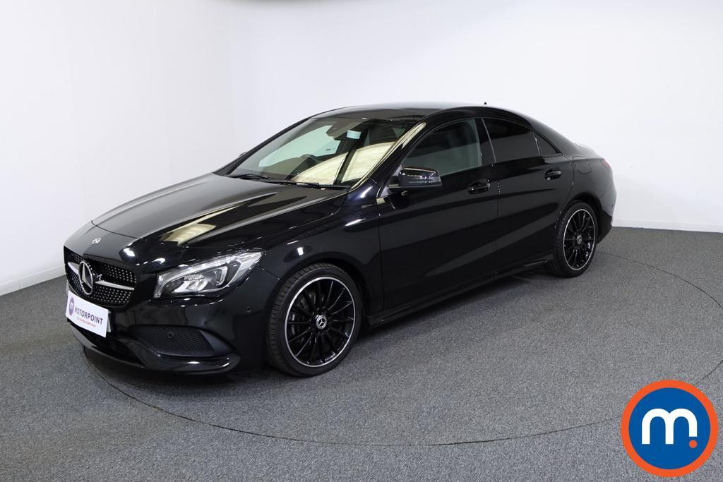 Mercedes-Benz CLA AMG Line Night Edition Plus - Stock Number 1132134 Passenger side front corner