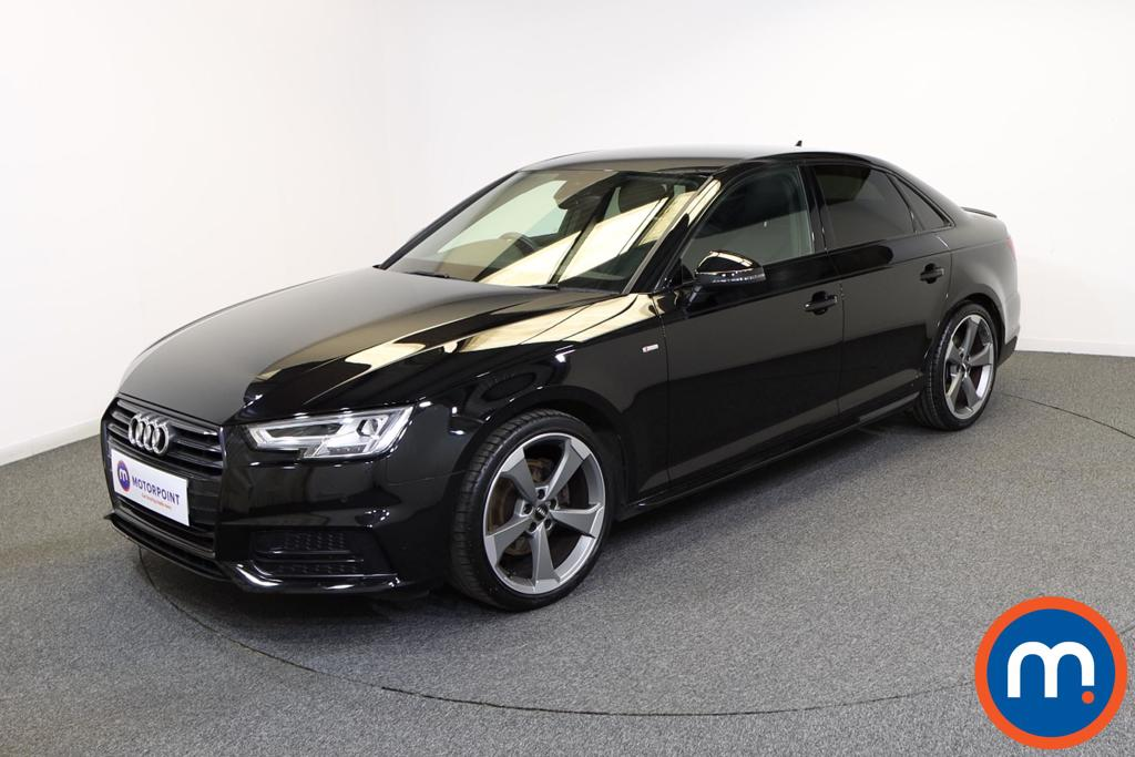 Audi A4 Black Edition - Stock Number 1132776 Passenger side front corner