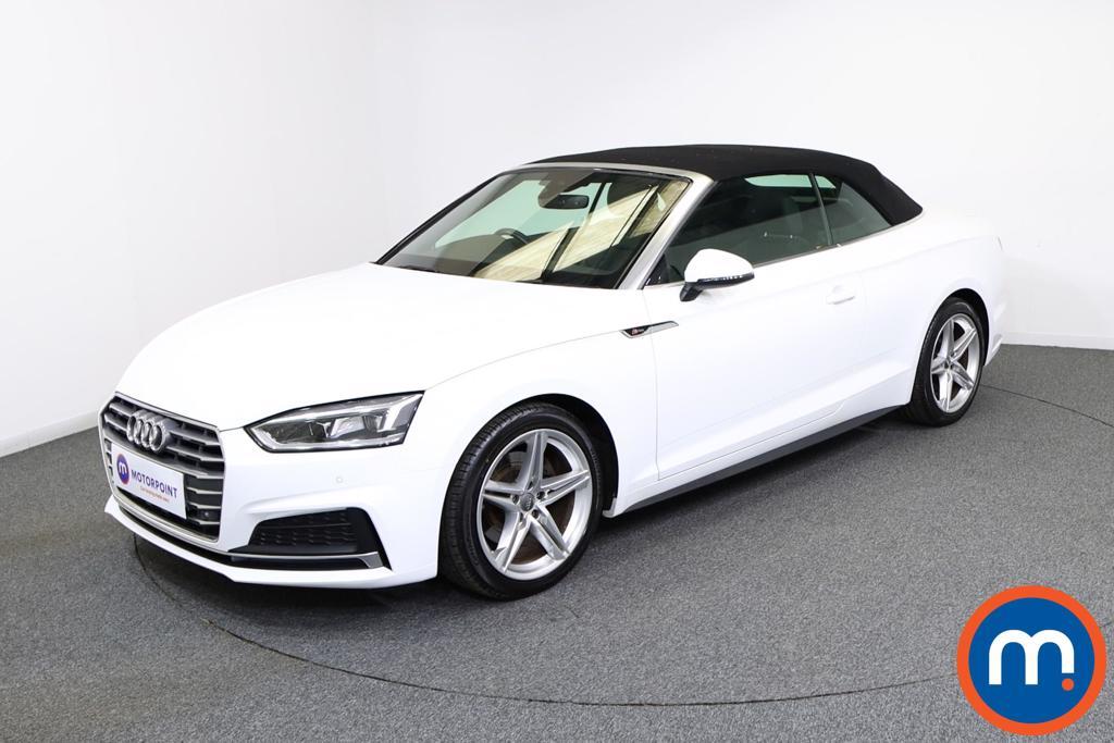 Audi A5 S Line - Stock Number 1136759 Passenger side front corner
