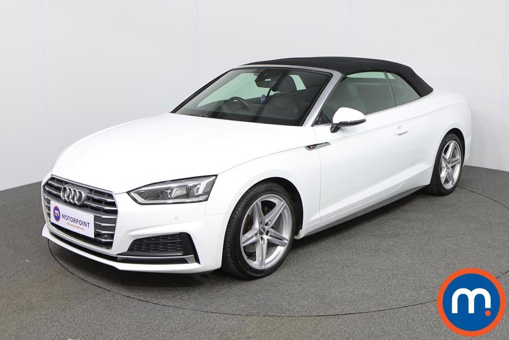 Audi A5 S Line - Stock Number 1137154 Passenger side front corner