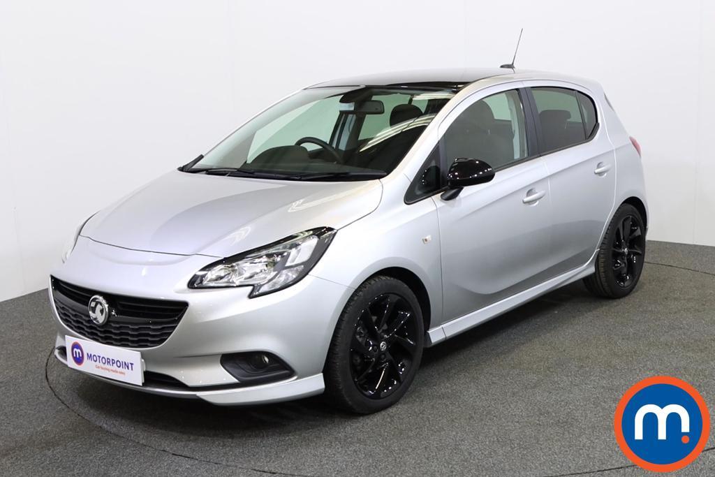 Vauxhall Corsa SRi Vx-line Nav Black - Stock Number 1137754 Passenger side front corner