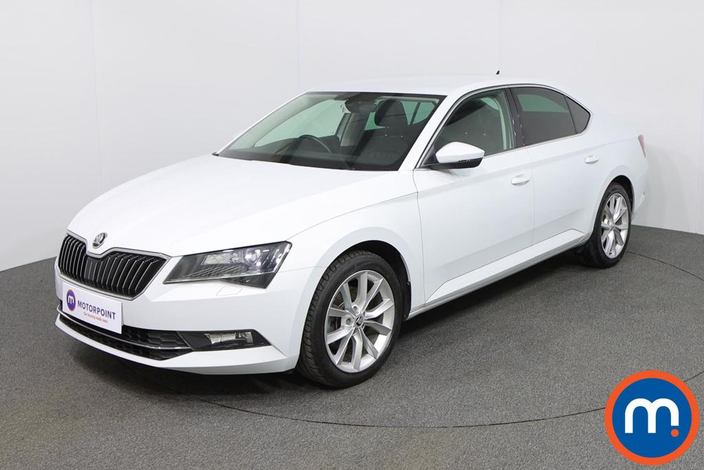 Skoda Superb SE L Executive - Stock Number 1137899 Passenger side front corner