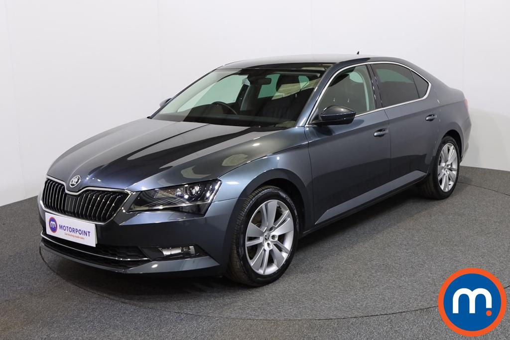 Skoda Superb SE L Executive - Stock Number 1137932 Passenger side front corner