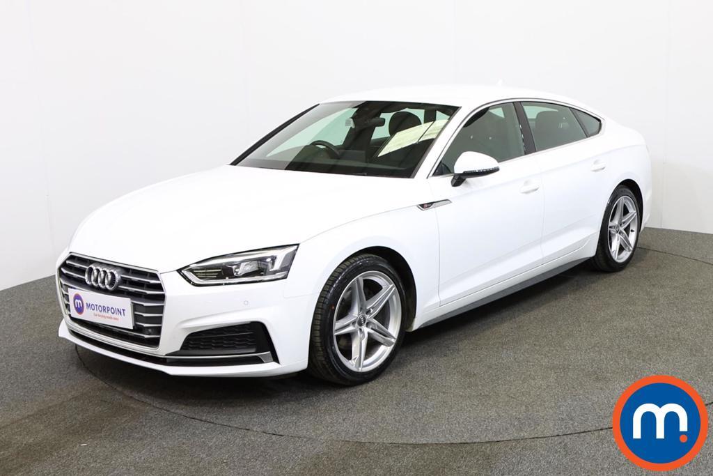 Audi A5 S Line - Stock Number 1132654 Passenger side front corner