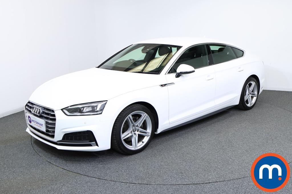 Audi A5 S Line - Stock Number 1136717 Passenger side front corner