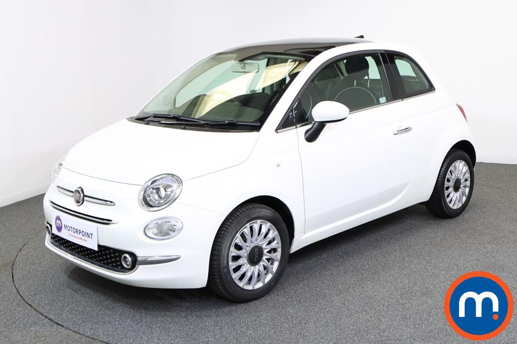 Fiat 500 Lounge - Stock Number 1132047 Passenger side front corner