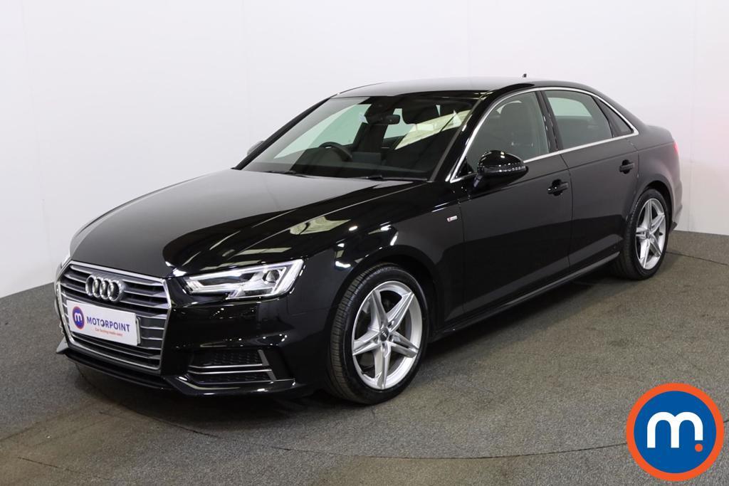 Audi A4 S Line - Stock Number 1133980 Passenger side front corner