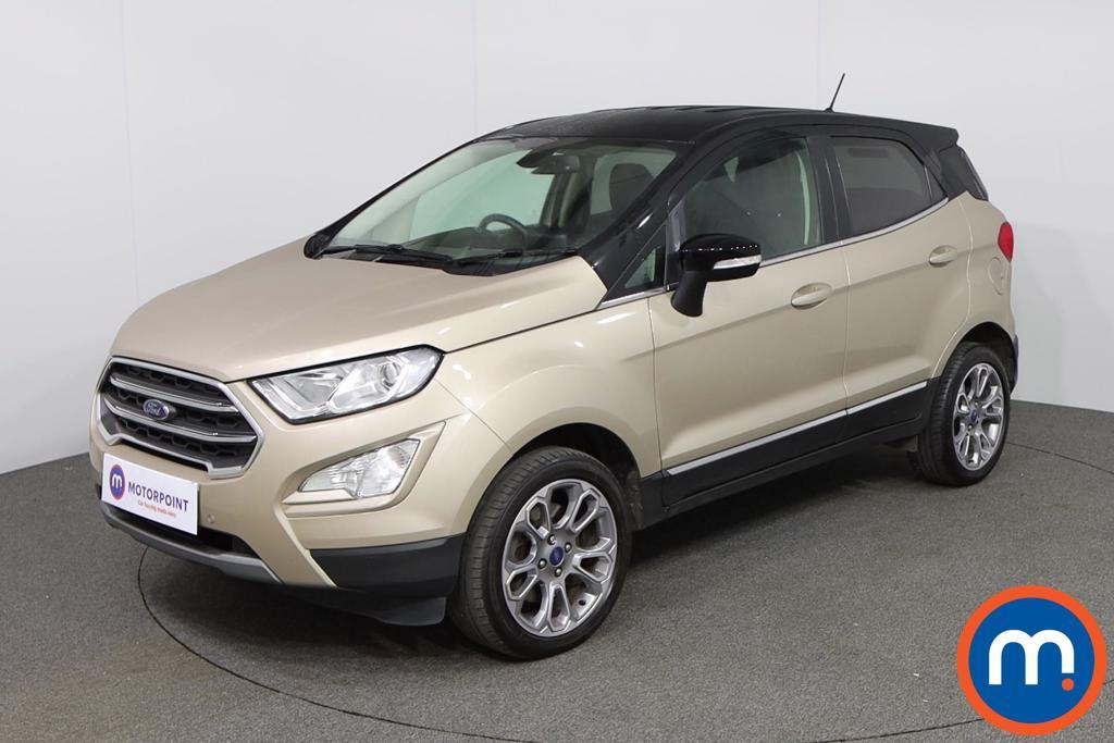 Ford Ecosport Titanium - Stock Number 1137407 Passenger side front corner