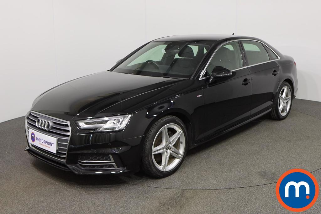 Audi A4 1.4T FSI S Line 4dr [Leather-Alc] - Stock Number 1138018 Passenger side front corner