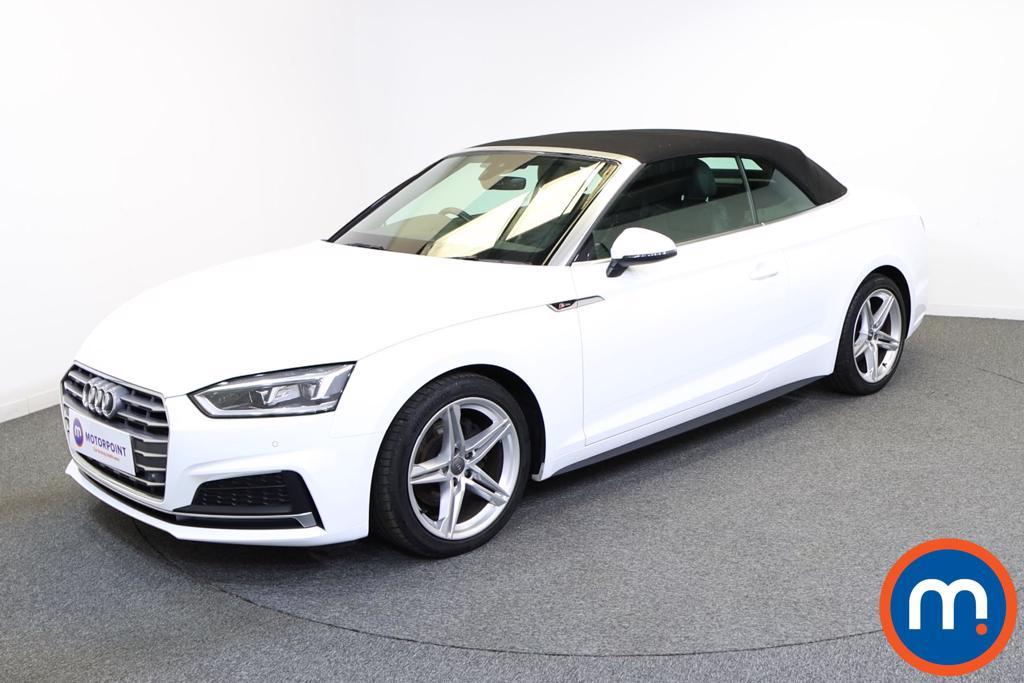 Audi A5 2.0 TFSI S Line 2dr - Stock Number 1138333 Passenger side front corner