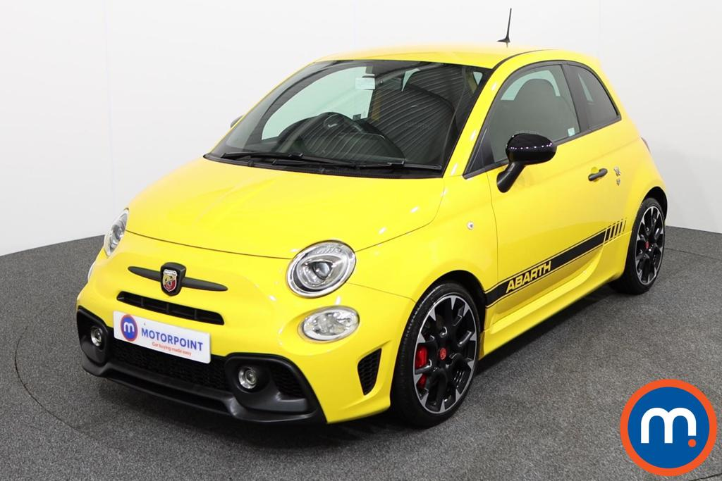 Abarth 595 Competizione - Stock Number 1140601 Passenger side front corner