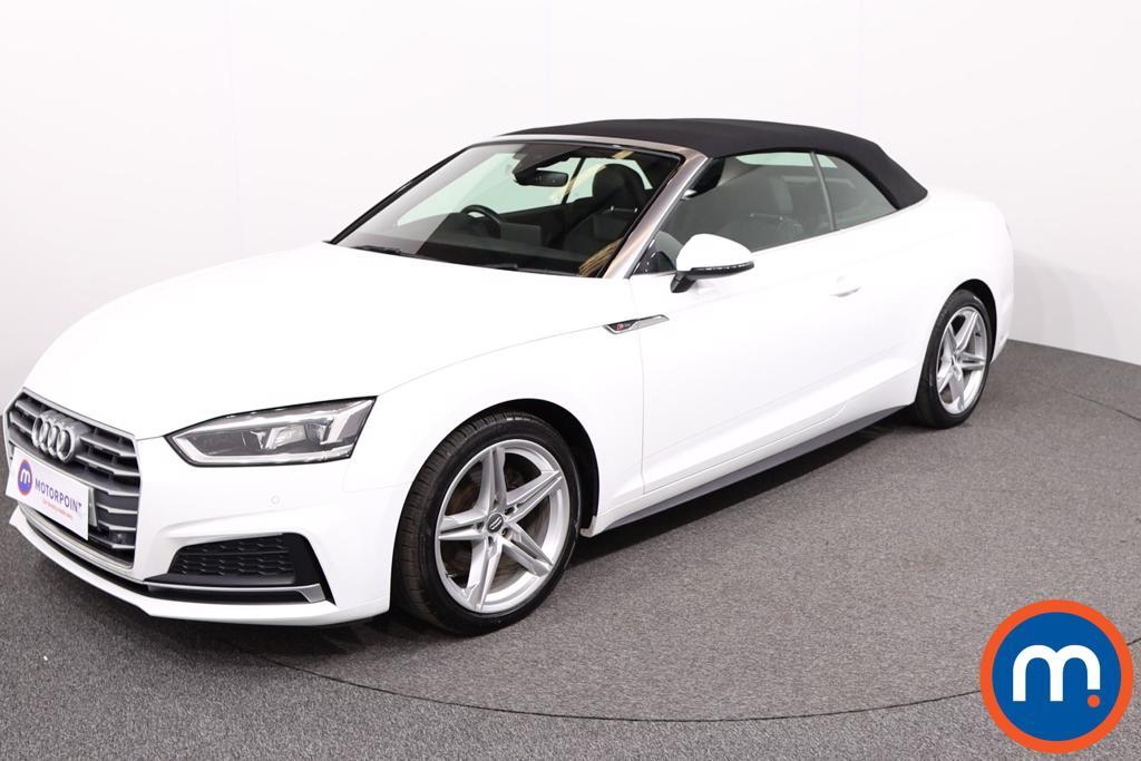 Audi A5 S Line - Stock Number 1130161 Passenger side front corner