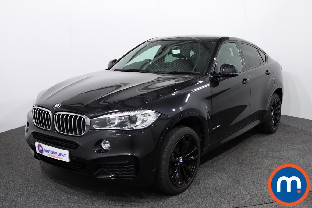 BMW X6 M Sport - Stock Number 1137357 Passenger side front corner