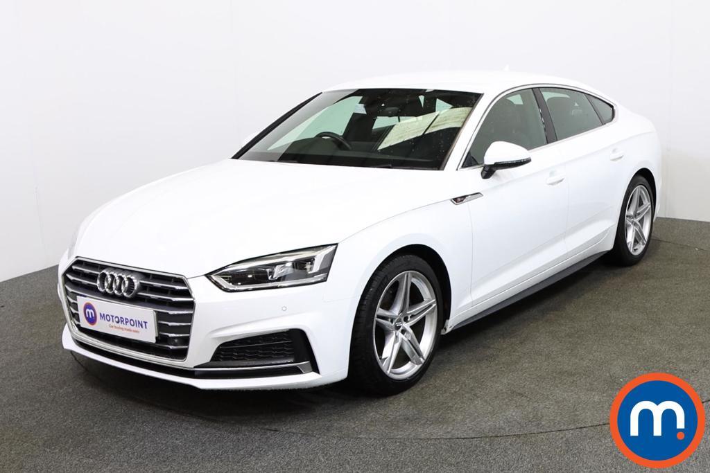 Audi A5 S Line - Stock Number 1138529 Passenger side front corner