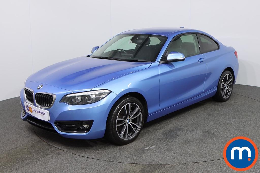 BMW 2 Series Sport - Stock Number 1138900 Passenger side front corner