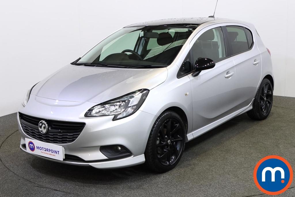 Vauxhall Corsa 1.4 SRi Vx-line Nav Black 5dr - Stock Number 1132275 Passenger side front corner