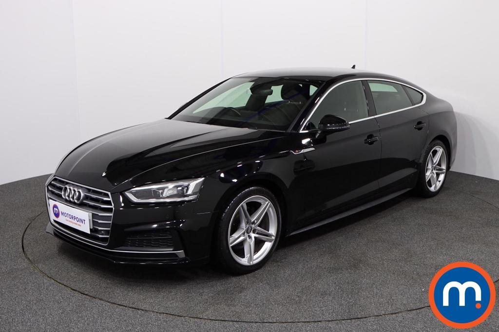 Audi A5 1.4 TFSI S Line 5dr S Tronic - Stock Number 1134350 Passenger side front corner