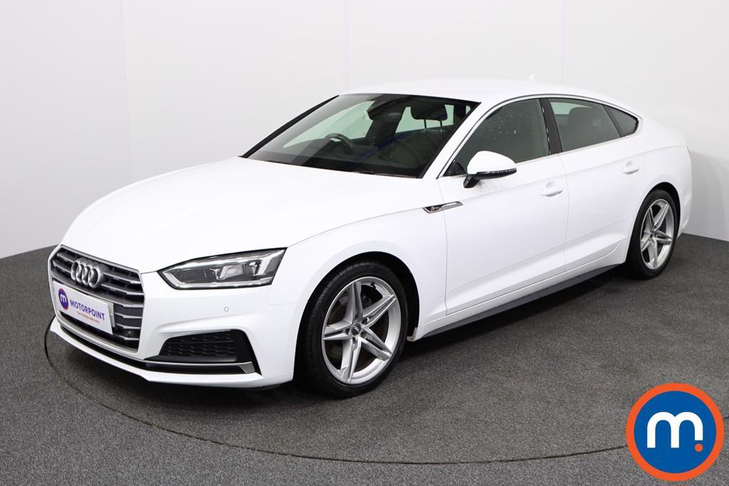 Audi A5 S Line - Stock Number 1135461 Passenger side front corner