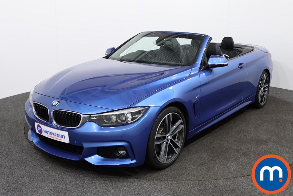 BMW 4 Series M Sport - Stock Number 1135642 Passenger side front corner