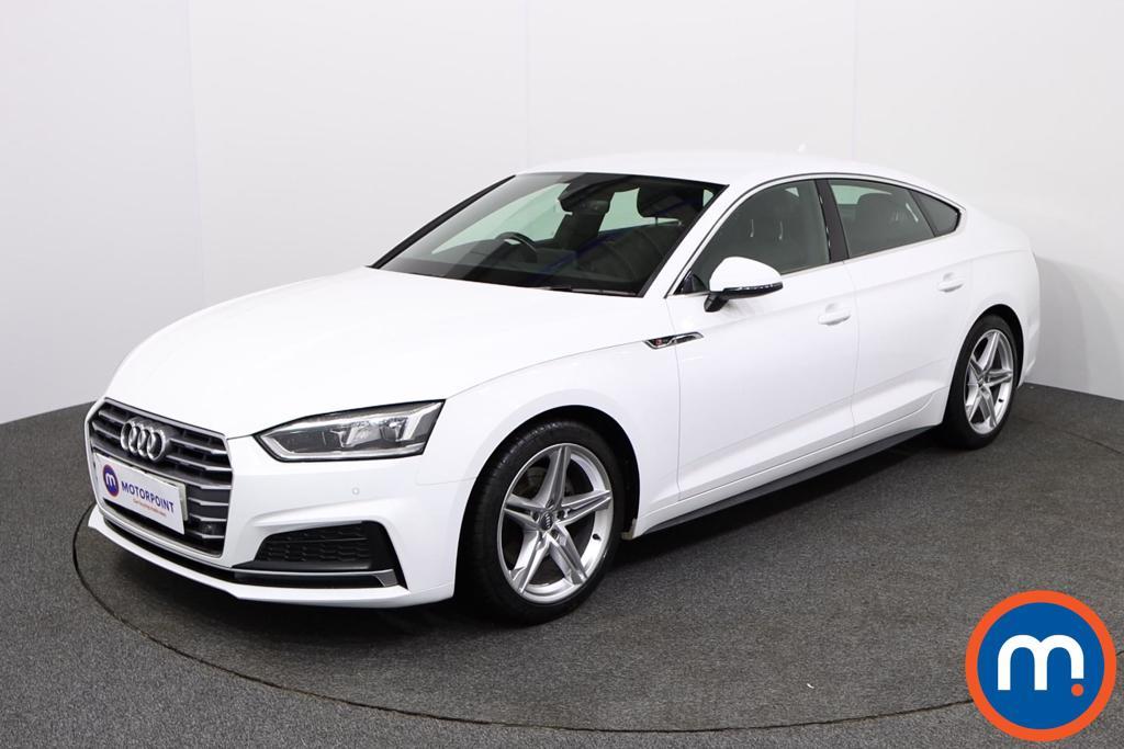Audi A5 S Line - Stock Number 1134040 Passenger side front corner