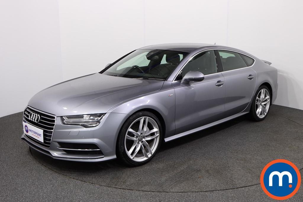 Audi A7 S Line - Stock Number 1137926 Passenger side front corner