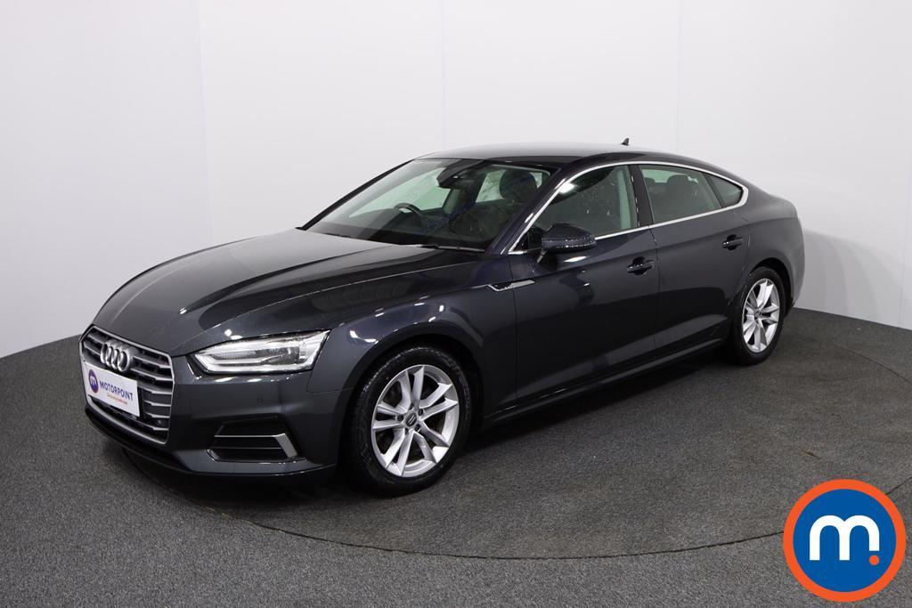 Audi A5 Sport - Stock Number 1138028 Passenger side front corner