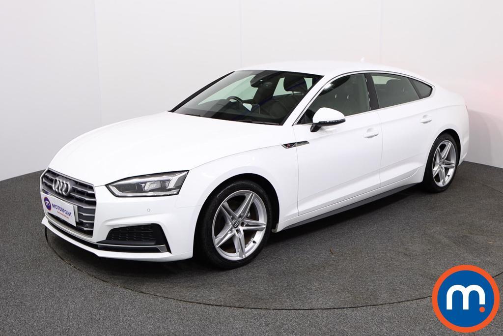 Audi A5 S Line - Stock Number 1134354 Passenger side front corner