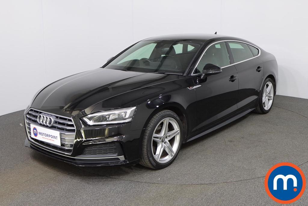 Audi A5 2.0 TFSI S Line 5dr S Tronic - Stock Number 1138527 Passenger side front corner