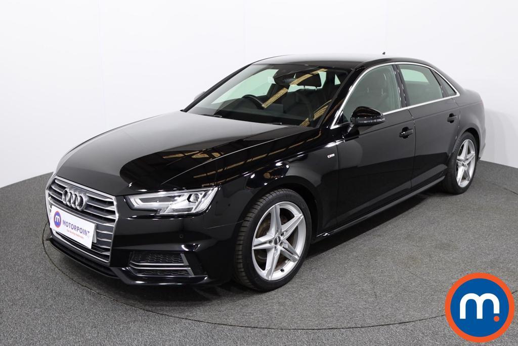 Audi A4 S Line - Stock Number 1129708 Passenger side front corner