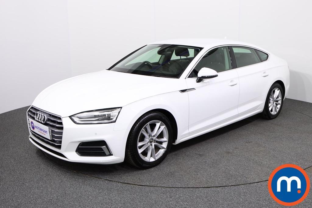 Audi A5 Sport - Stock Number 1134311 Passenger side front corner