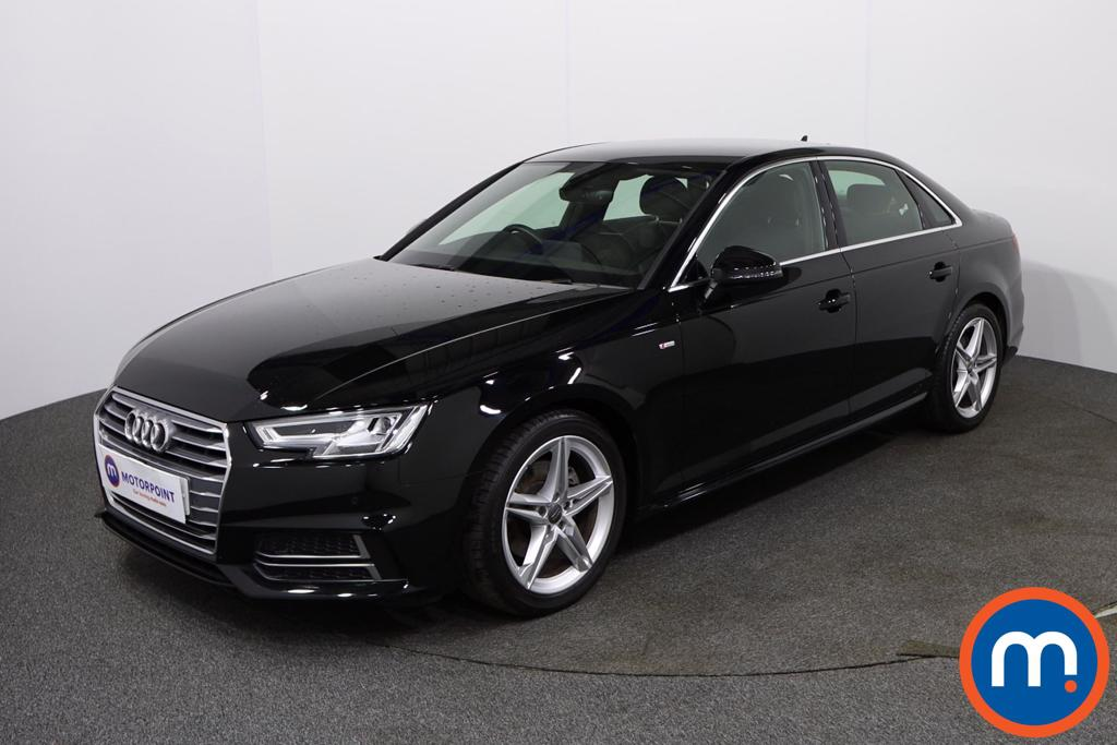 Audi A4 1.4T FSI S Line 4dr [Leather-Alc] - Stock Number 1135444 Passenger side front corner
