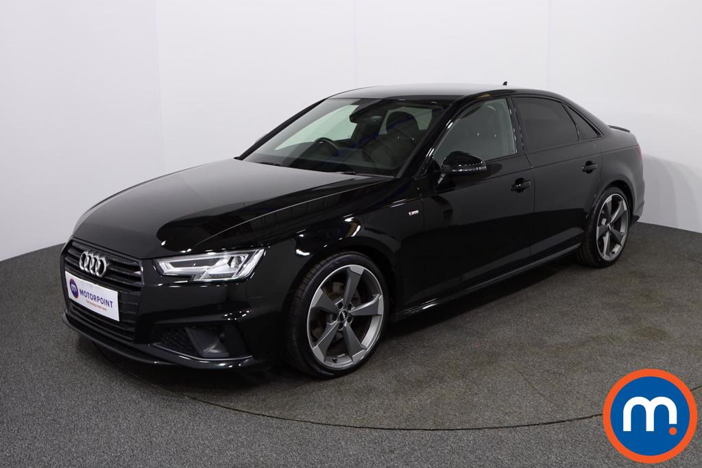 Audi A4 Black Edition - Stock Number 1135607 Passenger side front corner