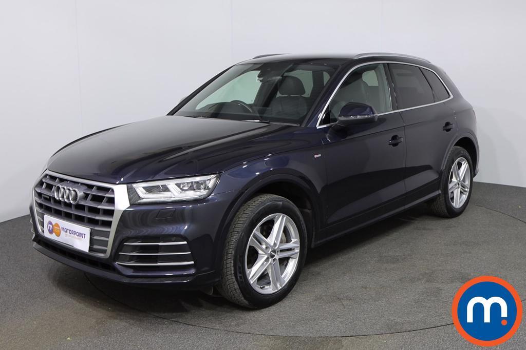 Audi Q5 S Line - Stock Number 1140209 Passenger side front corner