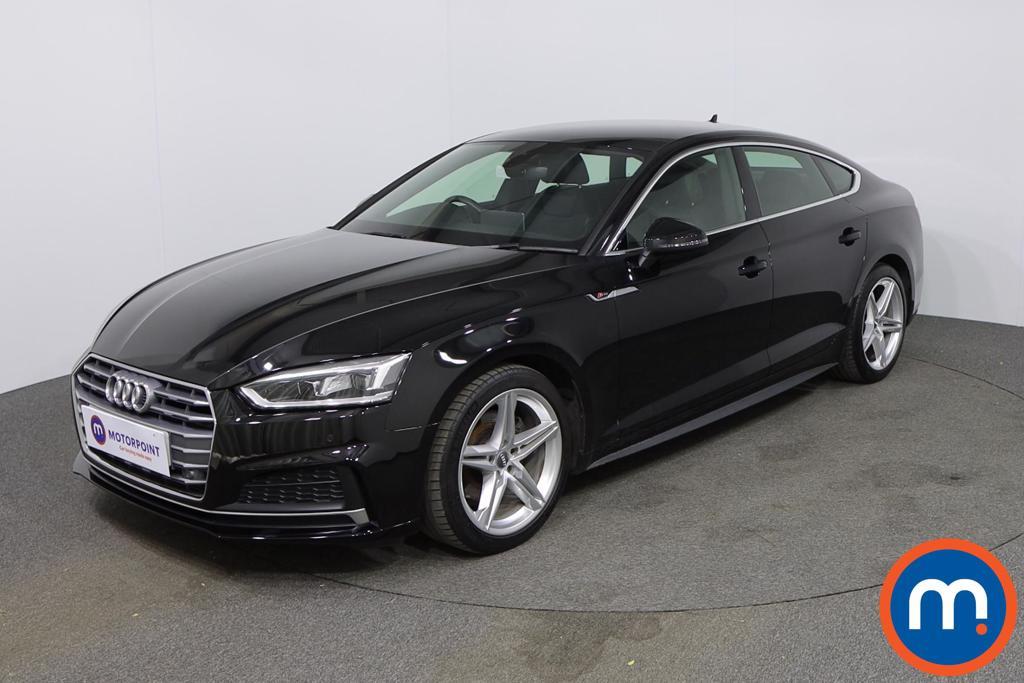 Audi A5 2.0 TFSI S Line 5dr [Tech Pack] - Stock Number 1140542 Passenger side front corner