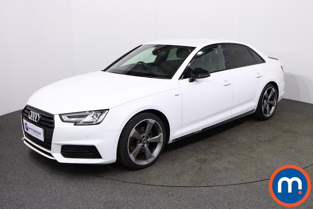 Audi A4 Black Edition - Stock Number 1132778 Passenger side front corner