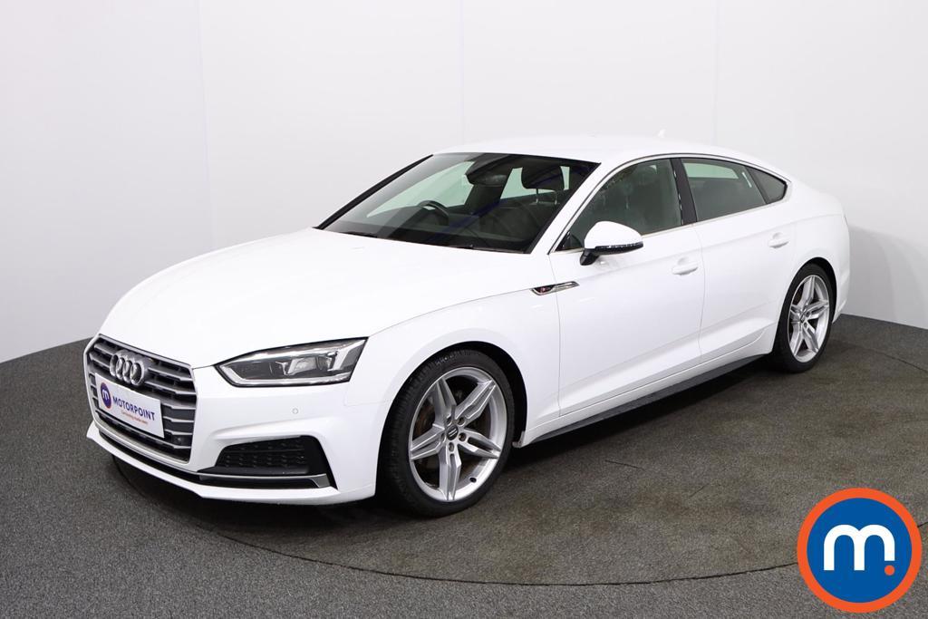 Audi A5 S Line - Stock Number 1135729 Passenger side front corner