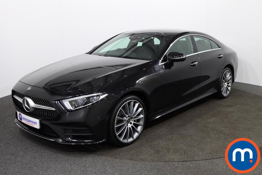 Mercedes-Benz CLS CLS 350d 4Matic AMG Line Premium -Plus 4dr 9G-Tronic - Stock Number 1138911 Passenger side front corner
