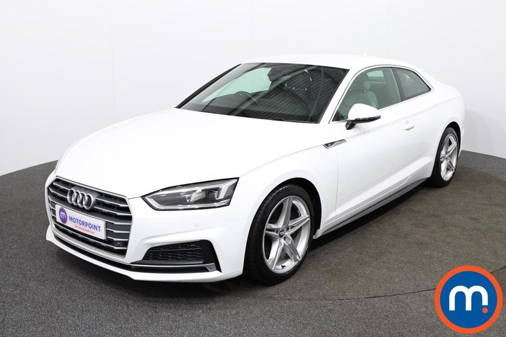 Audi A5 S Line - Stock Number 1141776 Passenger side front corner