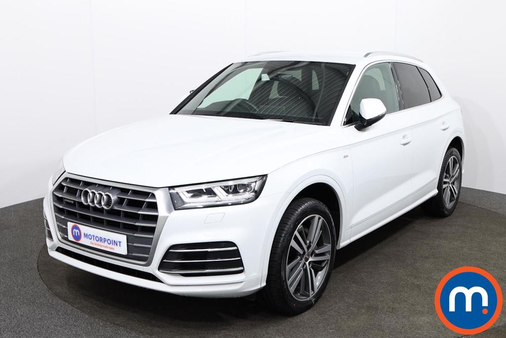 Audi Q5 2.0T FSI Quattro S Line 5dr S Tronic [Tech Pack] - Stock Number 1138237 Passenger side front corner