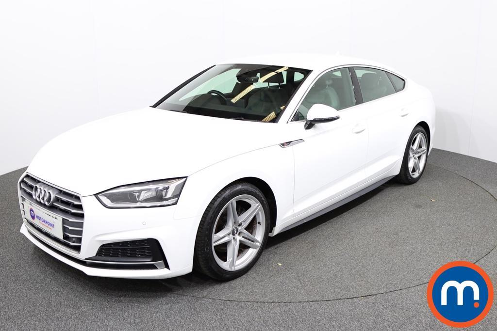 Audi A5 S Line - Stock Number 1141817 Passenger side front corner