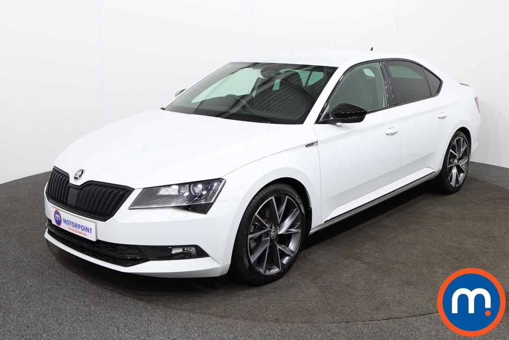 Skoda Superb Sport Line - Stock Number 1142839 Passenger side front corner