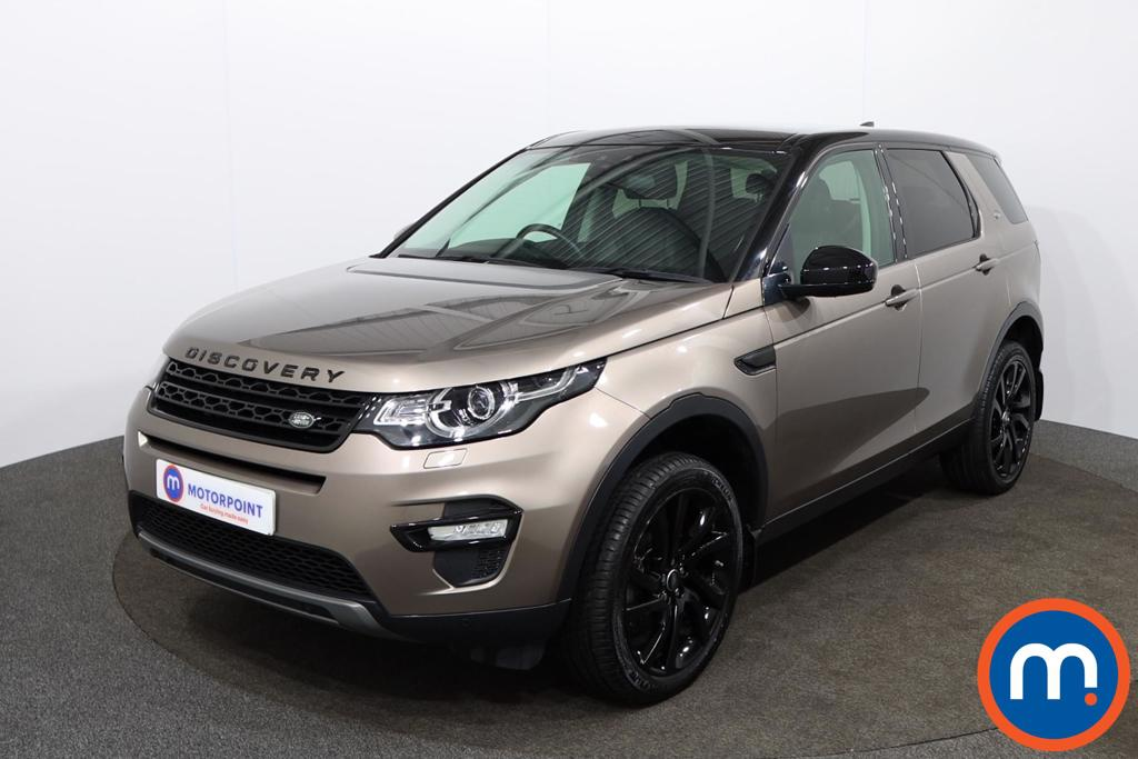 Land Rover Discovery Sport 2.0 TD4 180 HSE Black 5dr Auto - Stock Number 1141374 Passenger side front corner