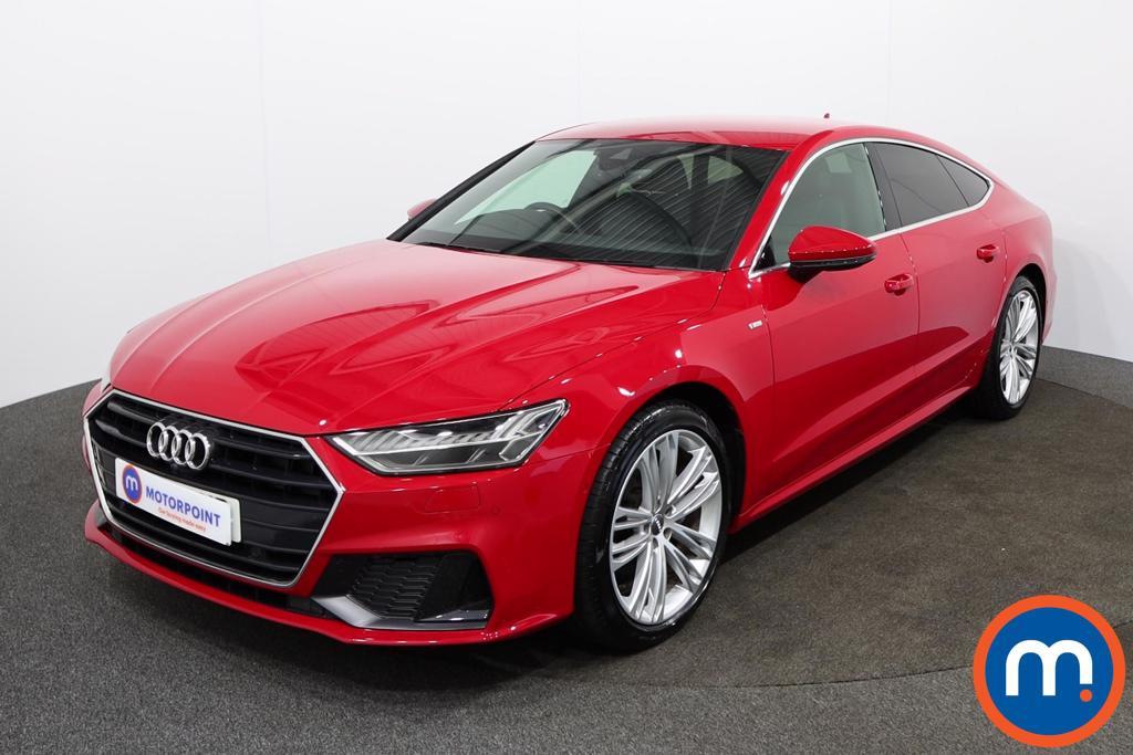 Audi A7 S Line - Stock Number 1142343 Passenger side front corner