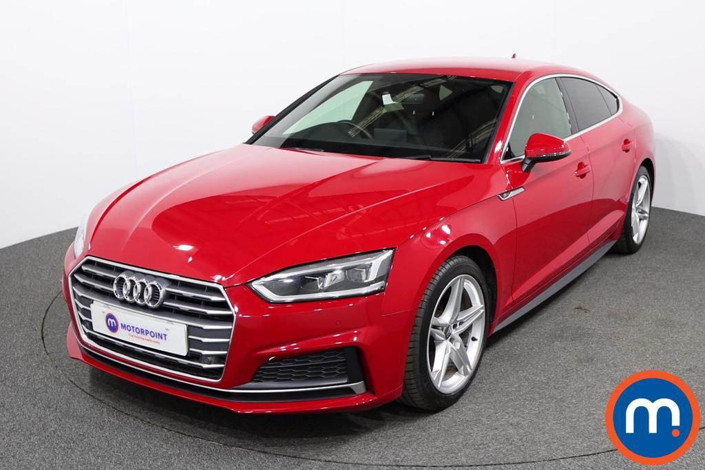 Audi A5 S Line - Stock Number 1129741 Passenger side front corner