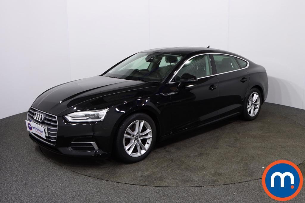 Audi A5 Sport - Stock Number 1131532 Passenger side front corner