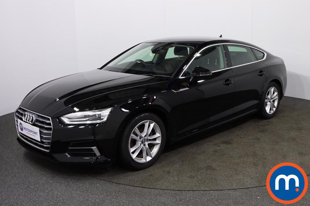 Audi A5 Sport - Stock Number 1132795 Passenger side front corner