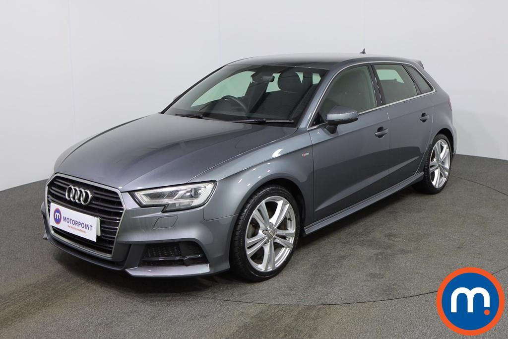 Audi A3 S Line - Stock Number 1139531 Passenger side front corner