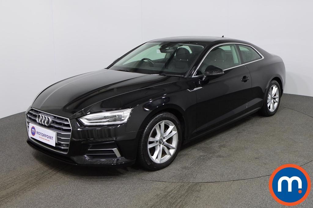 Audi A5 Sport - Stock Number 1141362 Passenger side front corner