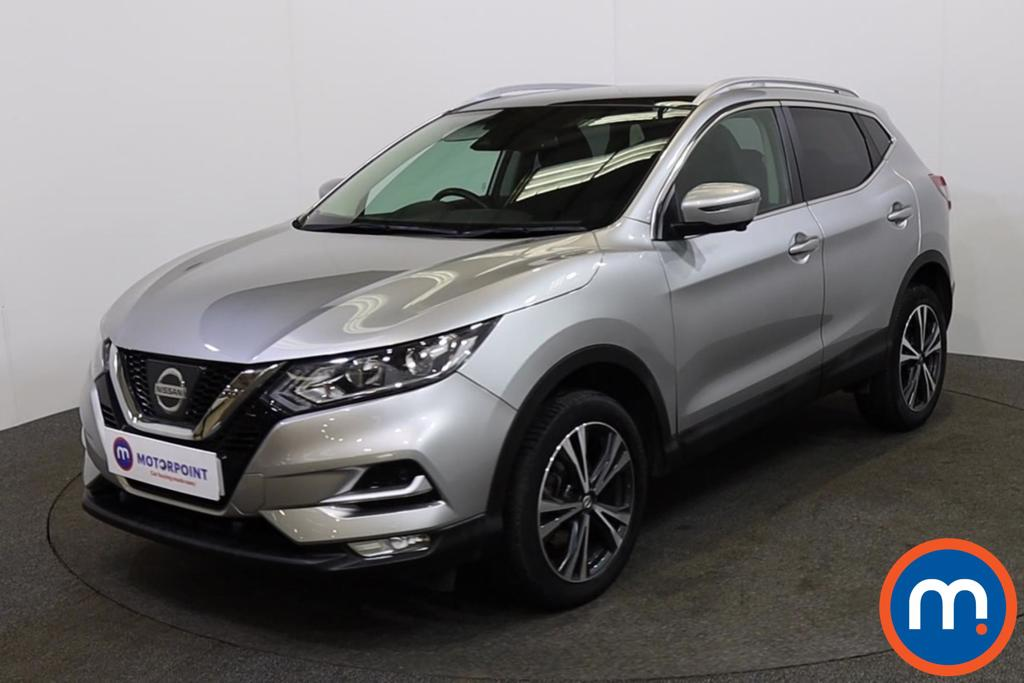 Nissan Qashqai 1.2 DiG-T N-Connecta [Glass Roof Pack] 5dr - Stock Number 1142522 Passenger side front corner