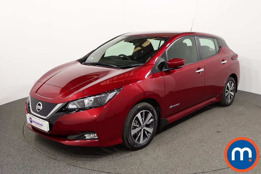 Nissan Leaf Acenta - Stock Number 1144976 Passenger side front corner